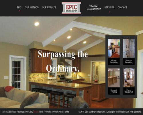 Epic Building Company Newark Ohio
