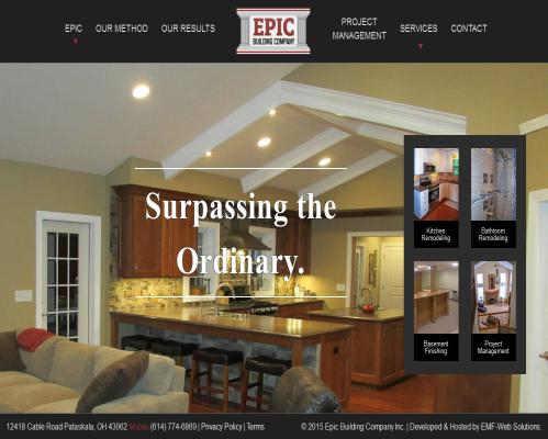 Epic Building Company Newark Ohio