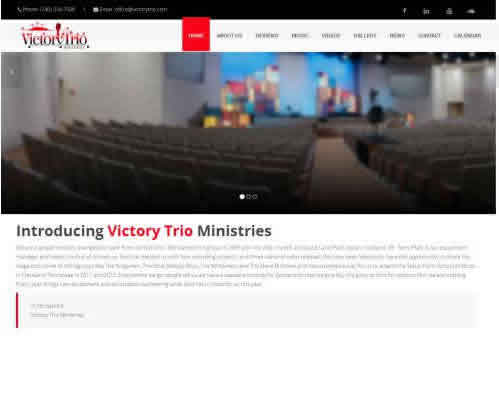 Victory Trio Web Design Fully Responsive